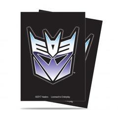 Transformers Decepticon Deck Protector 65ct Sleeves