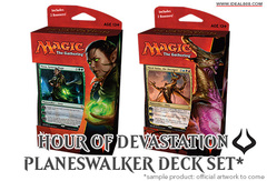 Hour of Devastation (HOU) Planeswalker Deck Set [Both Decks]