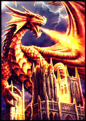 Dragon Castle Large Sleeves (50ct) on Ideal808