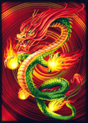 China Dragon 2.0 Small Sleeves (50ct) on Ideal808