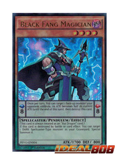 Black Fang Magician - PEVO-EN004 - Ultra Rare - 1st Edition