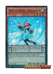 White Wing Magician - PEVO-EN005 - Ultra Rare - 1st Edition