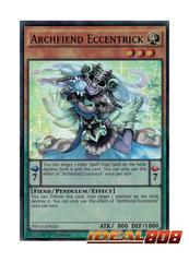Archfiend Eccentrick - PEVO-EN026 - Super Rare - 1st Edition