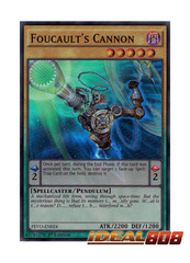 Foucault's Cannon - PEVO-EN024 - Super Rare - 1st Edition