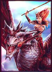 Dragon Rider Large Sleeves (50ct)