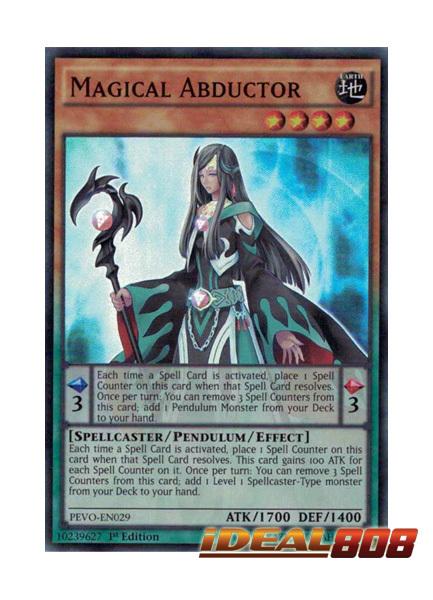 Magical Abductor - PEVO-EN029 - Super Rare - 1st Edition