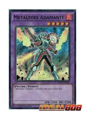 Metalfoes Adamante - PEVO-EN055 - Super Rare - 1st Edition