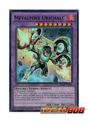Metalfoes Orichalc - PEVO-EN054 - Super Rare - 1st Edition