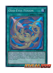 Odd-Eyes Fusion - PEVO-EN038 - Super Rare - 1st Edition