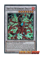 Odd-Eyes Meteorburst Dragon - PEVO-EN032 - Super Rare - 1st Edition