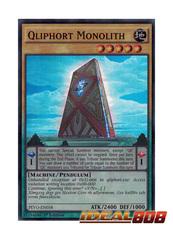 Qliphort Monolith - PEVO-EN058 - Super Rare - 1st Edition