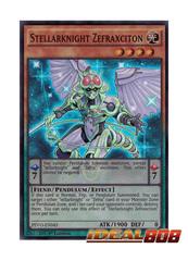 Stellarknight Zefraxciton - PEVO-EN045 - Super Rare - 1st Edition