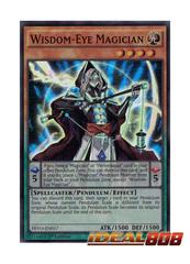 Wisdom-Eye Magician - PEVO-EN017 - Super Rare - 1st Edition
