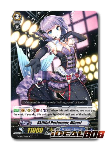 Skillful Performer, Minori - G-CB03/028EN - C