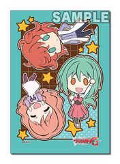 Bushiroad Cardfight!! Vanguard Sleeve Collection (70ct) Mini Extra Vol.30 Team Jaime Flowers (Tokoha, Satoru, Kumi)