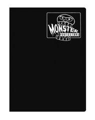 Monster Protectors 9 Pocket Binder - Matte - Black