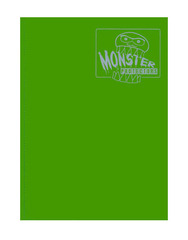Monster Protectors 9 Pocket Binder - Matte - Green on Ideal808