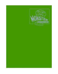 Monster Protectors 9 Pocket Binder - Matte - Green