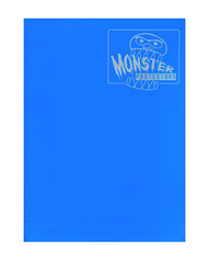 Monster Protectors 9 Pocket Binder - Matte - Sky Blue on Ideal808