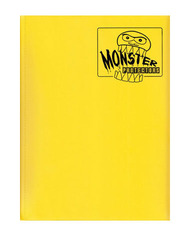 Monster Protectors 9 Pocket Binder - Matte - Yellow on Ideal808