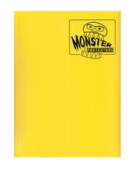 Monster Protectors 9 Pocket Binder - Matte - Yellow