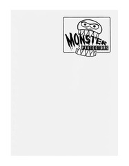Monster Protectors 9 Pocket Binder - Matte - White on Ideal808
