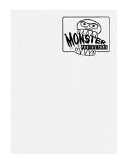 Monster Protectors 9 Pocket Binder - Matte - White
