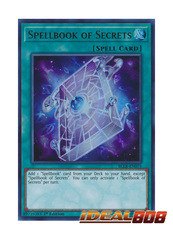 Spellbook of Secrets - BLLR-EN075 - Ultra Rare - 1st Edition