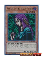 Witch of the Black Forest - BLLR-EN046 - Ultra Rare - 1st Edition
