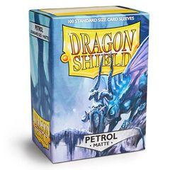 Dragon Shield Standard-size (100ct) Sleeves - Matte Petrol