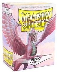 Dragon Shield Standard-size (100ct) Sleeves - Matte Pink
