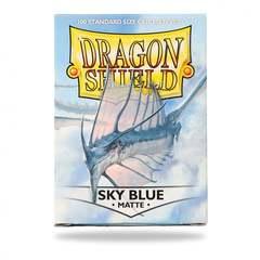 Dragon Shield Standard-size (100ct) Sleeves - Matte Sky Blue