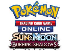 Pokemon SM03 Sun & Moon Burning Shadows TCGO Unused Promo Codes (36-count)