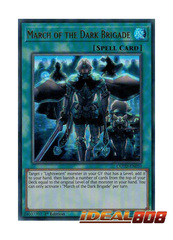 March of the Dark Brigade - COTD-EN059 - Ultra Rare - 1st Edition
