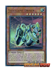 Salvagent Driver - COTD-EN005 - Ultra Rare - 1st Edition