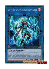 Auram the World Chalice Blademaster - COTD-EN049 - Super Rare - 1st Edition