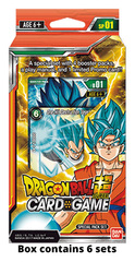 DBS-SP01 Galactic Battle (English) Dragon Ball Super Special Pack Set Box [Containts 6 Galactic Battle Sets]