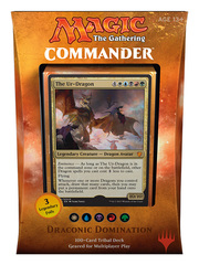 Commander 2017: Draconic Domination (White / Blue / Black / Red / Green) * PRE-ORDER Ships Aug.25