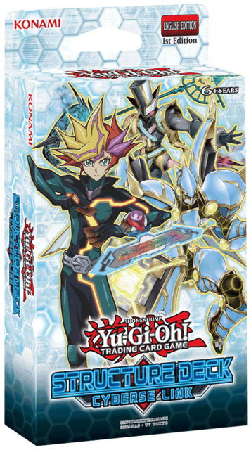 Cyberse Link (1st Edition) Structure Deck * PRE-ORDER Ships Nov.3