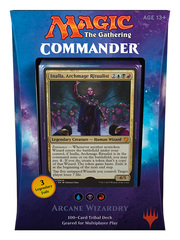 Commander 2017: Arcane Wizardry (Blue / Black / Red) * PRE-ORDER Ships Aug.25