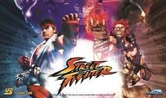 Street Fighter UFS Playmat - Ryu, Akuma, Chun-Li & M. Bison