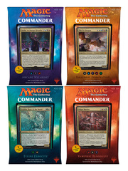 Commander 2017 (C17) Decks - Complete Set of 4 * PRE-ORDER Ships Aug.25