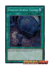 Foolish Burial Goods - MP17-EN218 - Secret Rare - 1st Edition