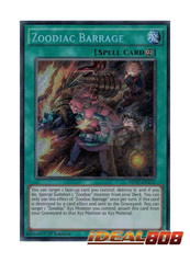 Zoodiac Barrage - MP17-EN212 - Secret Rare - 1st Edition