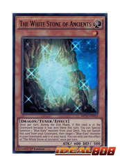 The White Stone of Ancients - MP17-EN013 - Ultra Rare - 1st Edition