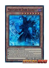 Magician of Dark Illusion - MP17-EN072 - Super Rare - 1st Edition