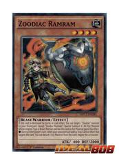 Zoodiac Ramram - MP17-EN185 - Common - 1st Edition