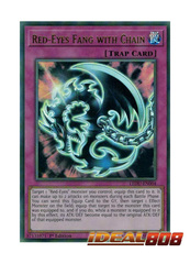 Red-Eyes Fang with Chain - LEDU-EN004 - Ultra Rare - 1st Edition