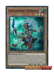 Amazoness Princess - LEDU-EN008 - Super Rare - 1st Edition