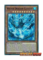 Water Dragon Cluster - LEDU-EN036 - Super Rare - 1st Edition